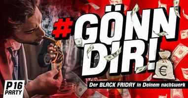 GÖNN' DIR – Der BLACK Friday in Deinem nachtwerk